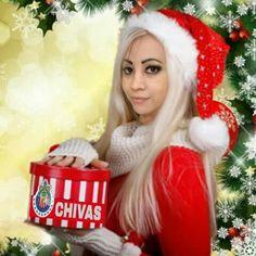The most beautiful Santa is Latina !