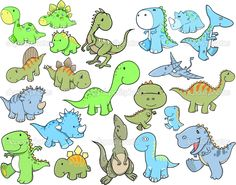 Wall Monkey's Cute Dinosaur Vector Illustration Wall Decal is great for adding a vibrant piece of art to your home, office, or classroom. Cartoon Dinosaur, Dinosaur Art, Cute Dinosaur, Easy Dinosaur Drawing, Design Set, Cartoon Drawings, Easy Drawings, Jurassic World Poster, Dinosaur Tattoos