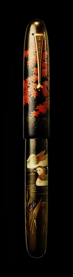 Namiki Emperor maki-e fountain pen - Mandarin Duck