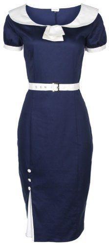 Lindy Bop Emmaline Classy Blue Vintage 1950s Pinup Pencil Wiggle Evening Party Dress (4XL, Blue) Lindy Bop,http://www.amazon.com/dp/B008LU2IK6/ref=cm_sw_r_pi_dp_zT1gtb0JQ94H9MDM