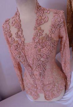 Model Kebaya Modern, Kebaya Modern Dress, Kebaya Dress, Kebaya Pink, Chiffon Dress, Lace Dress, Kebaya Wedding, Batik Kebaya, Traditional Gowns