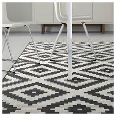 LAPPLJUNG RUTA halı beyaz-siyah 200x300 cm | IKEA Ev Tekstili