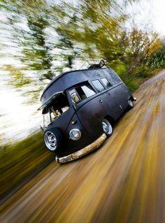 ☯☮ॐ American Hippie Bohemian Wanderlust Hot Rod ~ VW Van