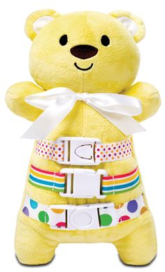 "Amazon.com: BuckleyBoo BuckleyBear 12"" Yellow: Gateway"