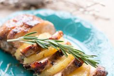 Add some delicious sweetness to dinnertime with this pineapple and brown sugar glazed pork tenderloin. The glaze is so simple to make, and it's perfect for any weeknight meal OR for the holiday! www.sweetpenniesfromheaven.com