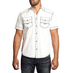 Affliction Out Of Silence S/S Woven Shirt