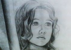 Pensamientos infantiles. Ilustración con lápices. Pencil Illustration, Thoughts, Illustrations, Art