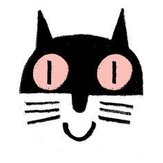 Rob Hodgson Art And Illustration, Crazy Cat Lady, Crazy Cats, F2 Savannah Cat, Grey Kitten, Cat Character, Animal Sketches, Cute Cars, Cartoon Kids