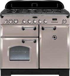 Rangemaster 92530 Classic Deluxe 100 Dual Fuel Range Cooker - Latte