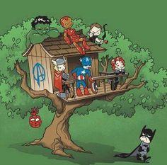 Batman isn't welcome!