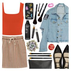 """""""04.24.17   3:29 PM   Summer Street Style"""" by lilchick88 ❤ liked on Polyvore featuring Miss Selfridge, Moschino, 3.1 Phillip Lim, Pieces, Living Proof and Cinnamon Projects"""