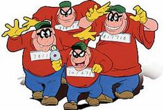 Picture of Famous Cartoon Dogs The Beagle Boys