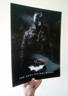 Batman The Dark Knight Rises Lenticular Poster Flip effect New11.93x15.87in