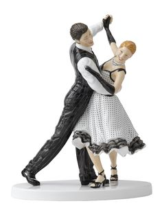 "This would fit perfectly in my Doulton collection. ""Dance the Quickstep"" by Royal Doulton. Types Of Ballroom Dances, Ballroom Dancing, Royal Doulton, Kinds Of Dance, Grace And Lace, Precious Moments Figurines, Class Design, Pottery Sculpture, Pretty Woman"