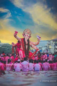 paintings: Top 20 photos of mega ganesha of the year 2018 mumbai Shri Ganesh Images, Ganesha Pictures, Lord Krishna Images, Ganpati Bappa Photo, Ganpati Photo Hd, Ganpati Visarjan, Ganpati Bappa Wallpapers, Ganesh Bhagwan, Happy Ganesh Chaturthi Images