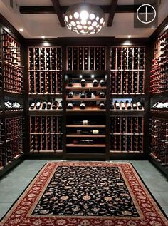 Vigilant custom wine cellars and wine rooms photo gallery. View photos of our wine cellar projects. Wine Shelves, Wine Storage, Wine Cellar Basement, Wine Wallpaper, Whiskey Room, Wine Cellar Design, Wine Design, Home Wine Cellars, Home Bar Designs
