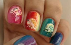 Fruity nails