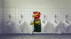 LEGO The Simpsons Minifigure Series 2 Groundskeeper Willie Minifigure fast build. Lego Simpsons, Lego Stuff, Stop Motion, Legos, Products, Play Houses, Text Messaging, Lego, Gadget