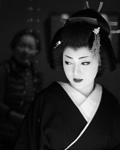 "korbindallaz: "" beauty - an geisha appearance "" c/o momoyama Japanese History, Japanese Beauty, Japanese Culture, Geisha Japan, Geisha Art, Photo Japon, Memoirs Of A Geisha, Japon Illustration, Turning Japanese"
