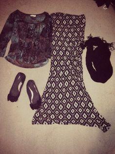 Outfit 12 #modesty #maxiskirt #modestoutfit