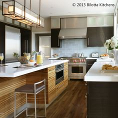Gutsy & Gorgeous in New York: Bold Measures #kitchen | Cultivate.com