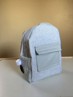 Toddler sized feeding pump backpack