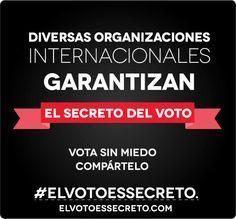 8. NINGÚN ORGANISMO INTERNACIONAL HA AVALADO LA INTEGRIDAD DEL SISTEMA DE VOTACIÓN VENEZOLANO:  Falso. Diversas organizaciones, como el Centro Carter y la Unasur, han reiterado que el software de las máquinas de votación garantizan el secreto del voto.