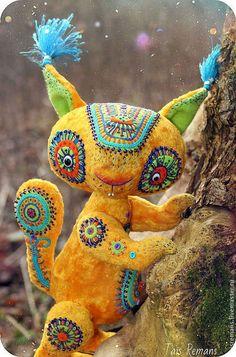 Мишки Тедди ручной работы. Ярмарка Мастеров - ручная работа КосмоБелка- Нурикки. Handmade.