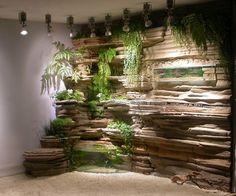 Le mur végétal intérieur donne une nouvelle dimension à la décoration intérieure.