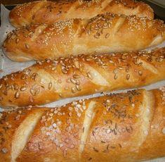 Czech Recipes, Russian Recipes, Bread Recipes, Cooking Recipes, Healthy Recipes, Empanadas, Bread Dough Recipe, Salty Snacks, Bread And Pastries