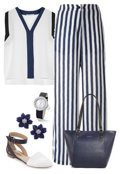 """""""Navy and White"""" by terry-tlc ❤ liked on Polyvore"""