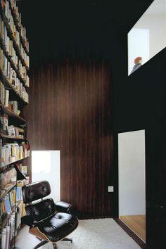 Plum Grove House, SANAA, 'first floor library'