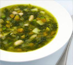 Sopa de chuchu com espinafre - Receitas - GNT