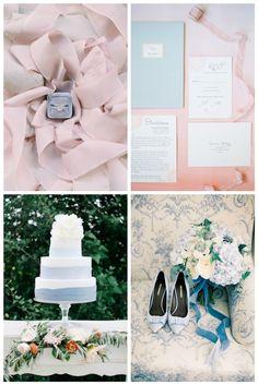 Rose quartz and serenity blue wedding Pantone 2016   Bodas Entre Tules