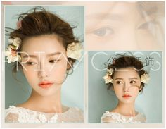 韓式甜美田園新娘頭飾仿真花漿果發夾小清新頭花結婚度假飾品-淘宝网全球站