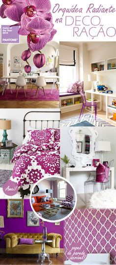 Radiant Orchid | Home Decor | Decoration