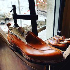 #robertougolini#bespokeshoes#manshoes#madetomesure#shoes#handmadeshoes#workingprogress#florence#