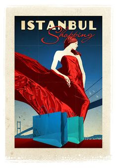Mavi Boncuk | Vintage Poster Design works of Emrah Yucel who also created many famous Hollywood film's posters. Here is presented the bigge...