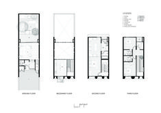 Townhouse with Private Garden,Floor Plans
