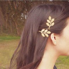 Nice Top Design Fashion Golden Alloy Leaves Hair Head Jewellery Hairpin Gift 3D Leaves Hair Clips Barrettes Side Clips Wedding Hair Jewelry Online with $0.34/Piece on Worldfashionoutlet's Store | DHgate.com