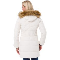 Gaastra Down Coat Ellington Offwhite Down Coat, Off White, Fur Coat, Winter Jackets, Fashion, Winter Coats, Moda, Winter Vest Outfits, Fashion Styles
