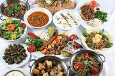 Every variation of eating in Turkey is feast for the eye.