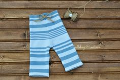 Newborn Photography Pants  Upcycled Blue and by ToodleBugCreations
