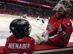 Children's Wish Granted - There is just no end to Holtby's cuteness in these pics. <3