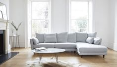 Amy Sofa-Right Chaise   Corner Sofas   Darlings of Chelsea