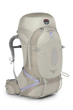 Osprey Aura AG 65 Litre Women's Hiking Backpack Free 2 Litre Hydration Unit - Seven Horizons Osprey Backpacks, Cool Backpacks, Rucksack Backpack, Hiking Backpack, Osprey Packs, Backpack Online, Backpacking Gear, Outdoor Gear, Backpacks