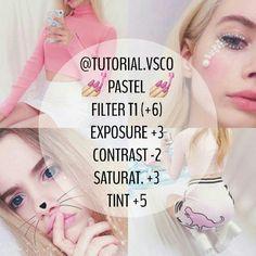 Pink pastel tutor for your ig feeds. Vsco cam