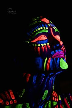 #Blacklight#Bodypaint