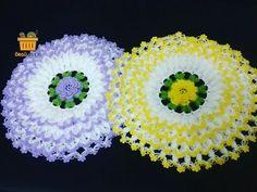 Construction of cabbage fiber model ** How to make knitting flower? Construction of cabbage fiber model ** How to make knitting flower? Crochet Flower Patterns, Doily Patterns, Crochet Doilies, Crochet Flowers, Crochet Lace, Crochet Stitches, Crochet Hammock, Mode Crochet, Wie Macht Man