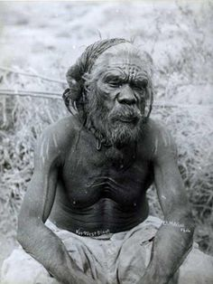 Aboriginal man from the north west of Western Australia, ca. 1910